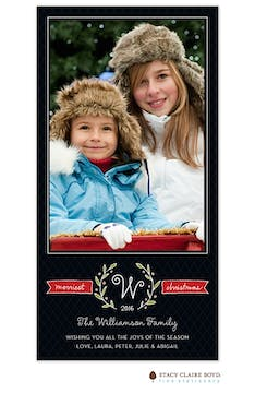 Merriest Twigs Print & Apply Flat Photo Card
