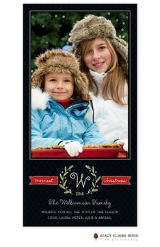 Merriest Twigs Flat Photo Card