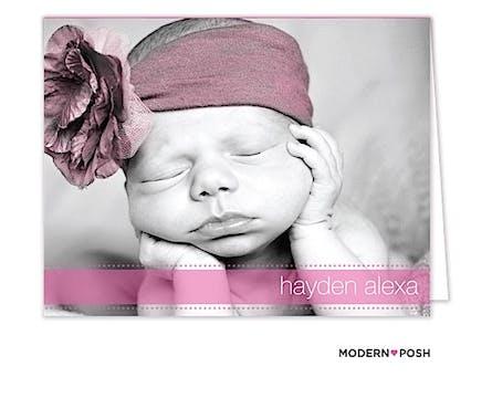 Digital Photo Folded Note Card