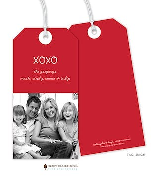 Digital Photo Hanging Gift Tag