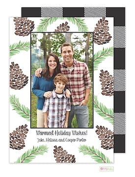 The Lodge Holiday Flat Photo Card
