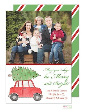 Holiday Road Holiday Flat Photo Card