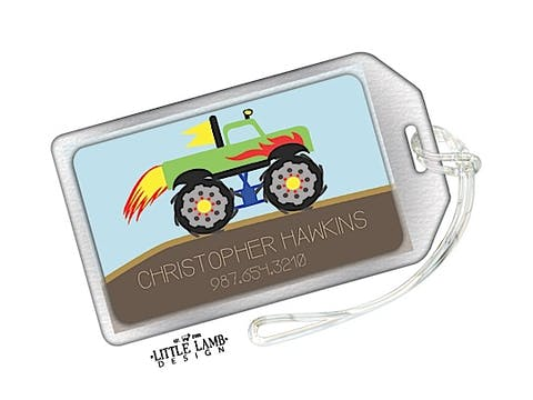 Monster Truck ID Tag