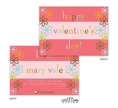 Flowery Valentine Cards