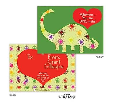 Dinomite Valentine Cards