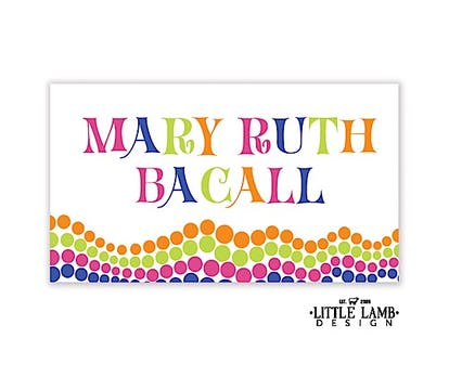 Bright Dots Gift Sticker
