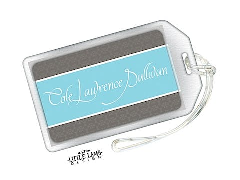 Blue Band Luggage Tag