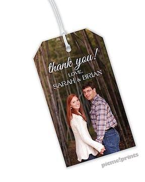 Full Bleed Photo Hanging Gift Tag