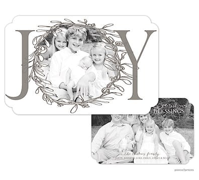 Big Joy Holiday Flat Photo Card