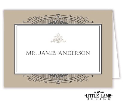 Art Deco Placecard