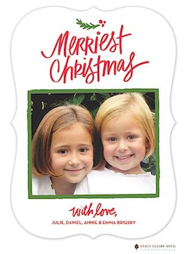 Littlest Twig Holiday Flat Photo Card