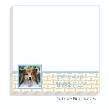 Dog Bone Notepad