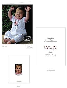 Petite Folded Photo Card