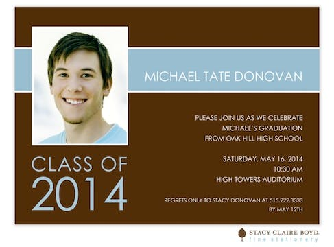 Graduation Band Invitation