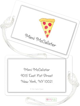 Pizza Pie ID Tag