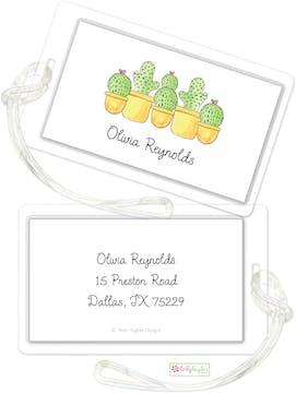 Cactus Garden ID Tag