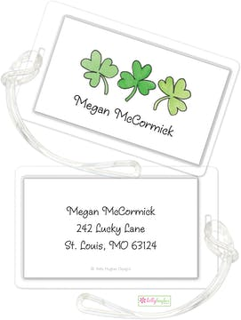 Shamrock Row ID Tag