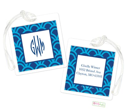 Blue Arches ID Tag