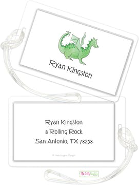 Green Dragon ID Tag