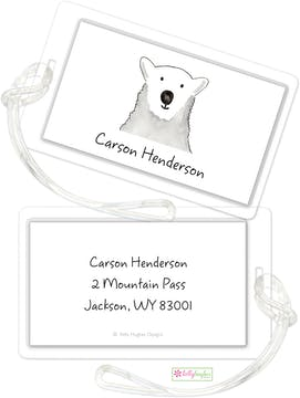 Polar Bear ID Tag