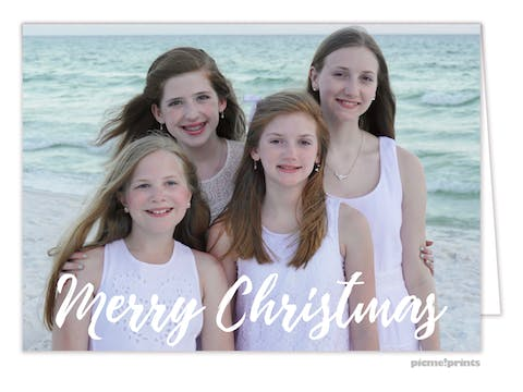 Happiest of Holidays Holiday Photo Card