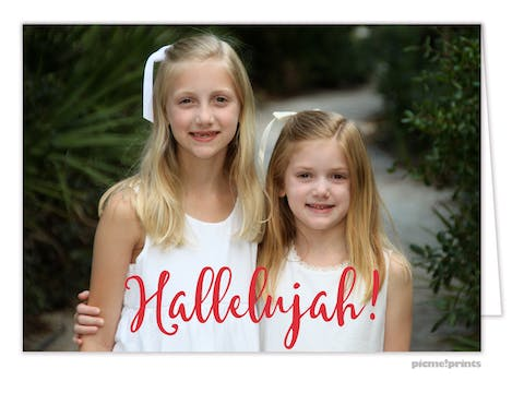 Hallelujah! Holiday Photo Card