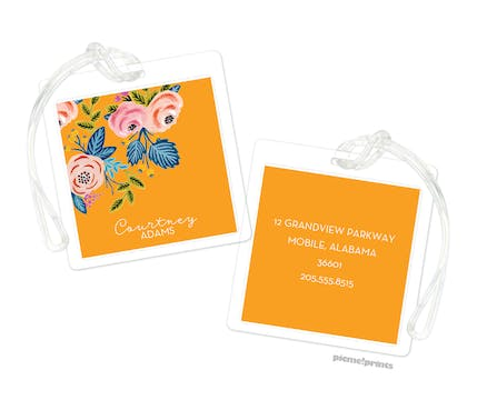 Rose of Spring Clementine ID Tag
