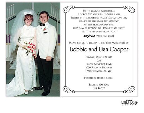 Elegant Photo Invitation