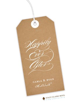 Craft Paper Hanging Gift Tag