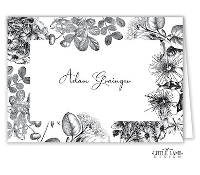 Classic Floral Placecard