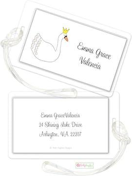 Swan Princess ID Tag
