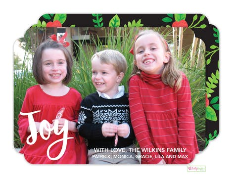 Holiday Flora Holiday Photo Card