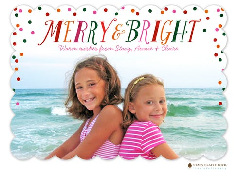 Celebrate the Season Holiday Photo Card