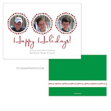 Happy Holidays Holiday Photo Card