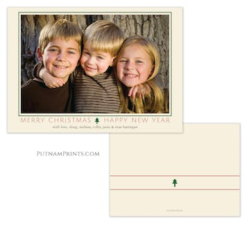 Holiday Frame Holiday Photo Card