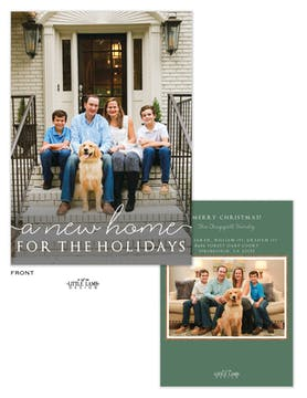 Home for the Holidays Holiday Photo Card