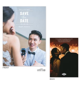 Perfect Save The Date Card