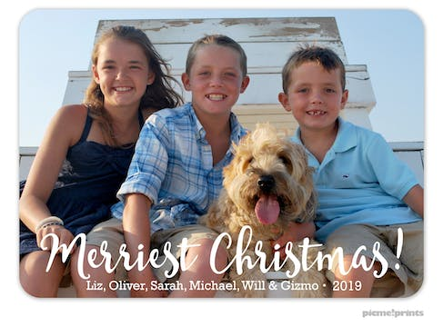 Big Merriest Christmas! Holiday Photo Card