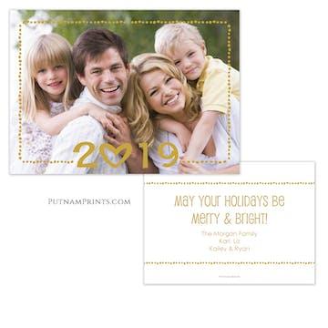 Holiday Year Holiday Photo Card