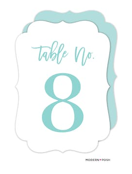 All Heart Table Card