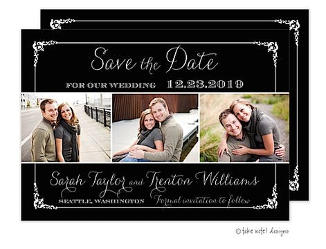 Tri-Photo Save The Date