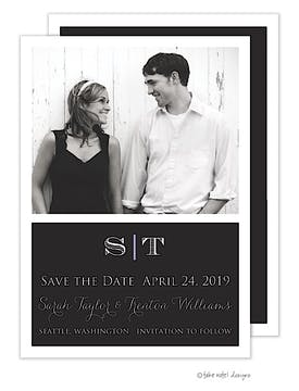 Simple Beauty Photo Save The Date