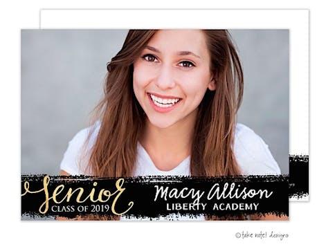 Macy Allison Painted Overlay Photo Card