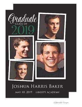 Joshua Harris Graduate Classic Green Photo Card