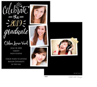 Chloe Lara Celebrate Photo Card