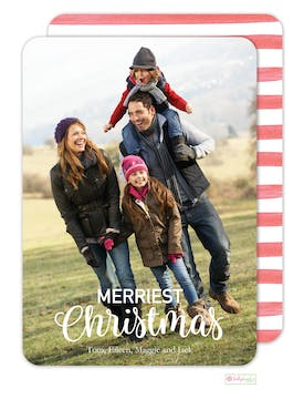 The Merriest Digital Photo Card