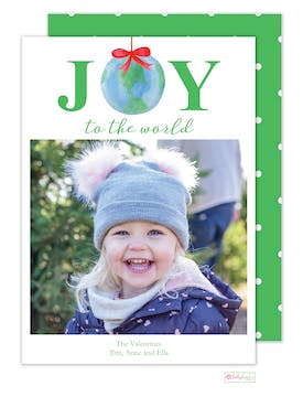 Joy to the World Digital Photo Card