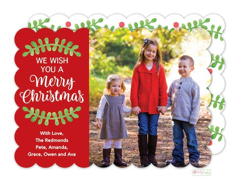 Christmas Wishes Digital Photo Card