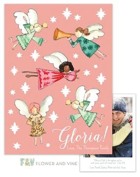 Gloria Angels Digital Photo Card