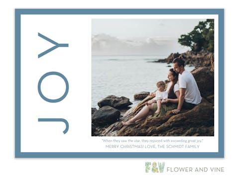 Joy Side Digital Photo Card